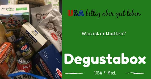 Die Mai Box von Degusta