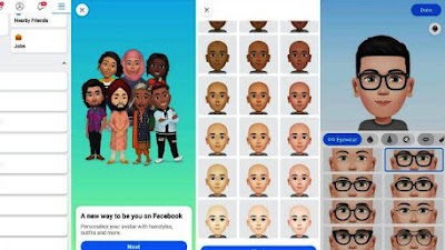 Begini Cara Bikin Avatar di Facebook!