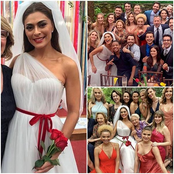 vestido de noiva maria da paz a dona do pedaço