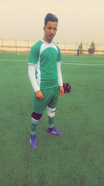 أسامة حوى موهبة من  قصر الشلالة في كرة القدم