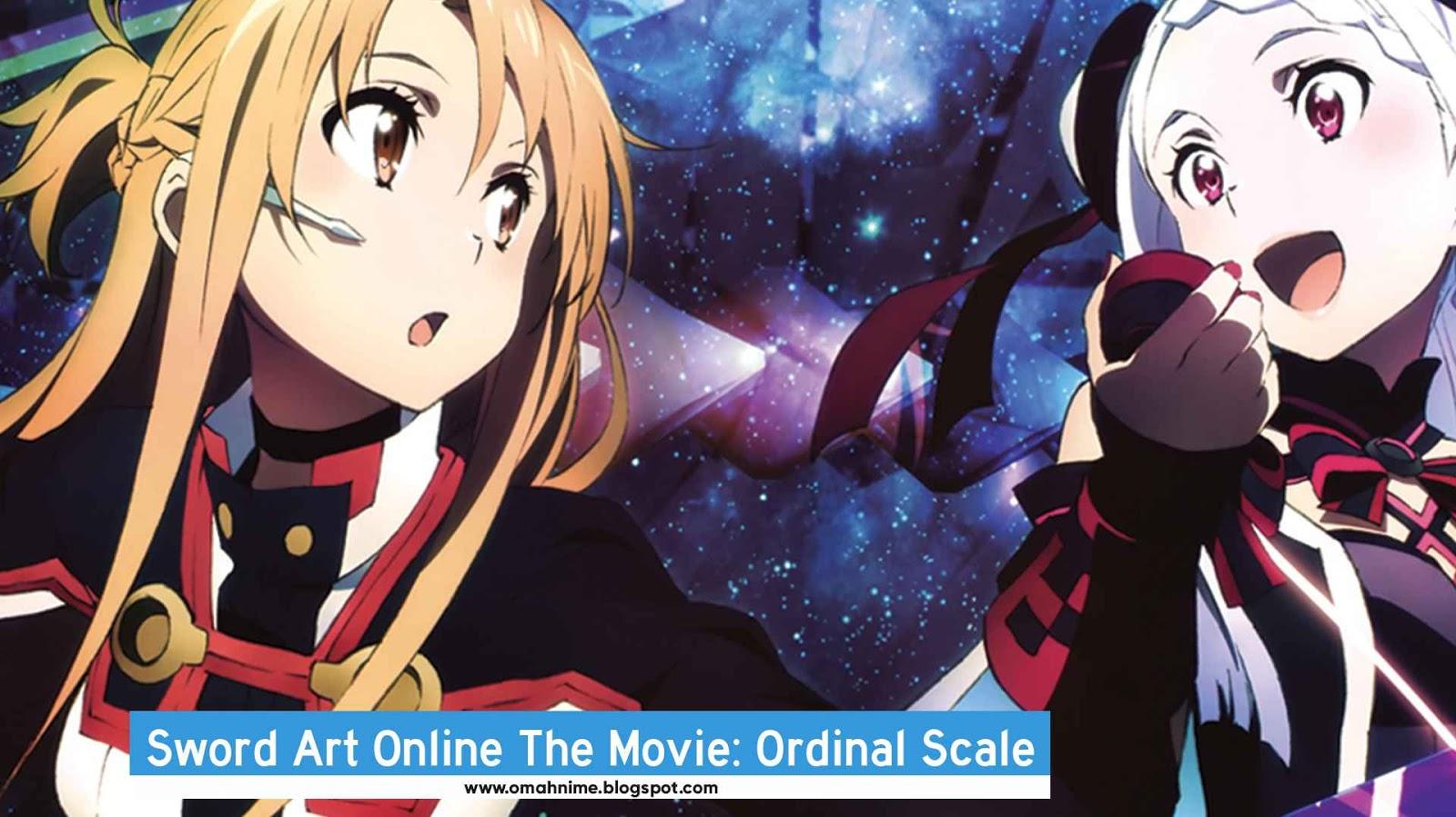 Sword art online movie ordinal scale bd subtitle indonesia