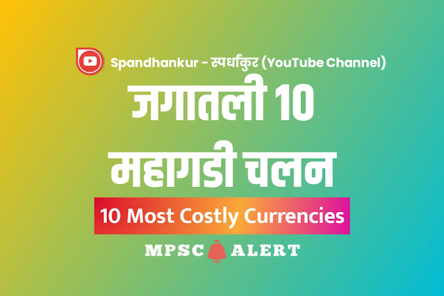 10 Most costly Currencies