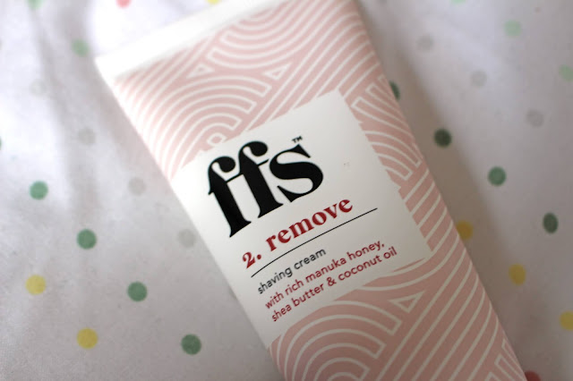 FFS women's razor subscription three step shaving cream