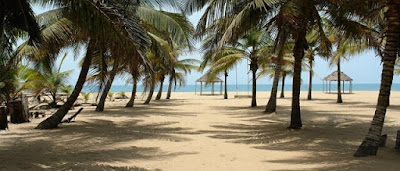 Coconut Beach in Badagry