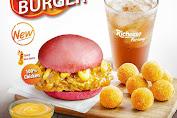 Richeese Factory Fire Burger Harga Promo Menu Baru RF 100% Chicken!