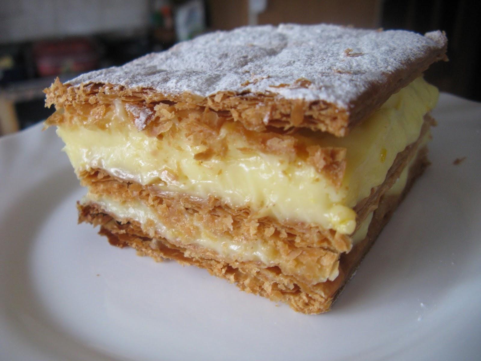 El rincn de casa el caminero mers asturias crema pastelera milhojas de crema pastelera altavistaventures Choice Image