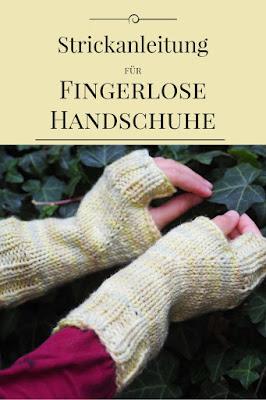 Strickanleitung für fingerlose Handschuhe, Stulpen, für Anfänger