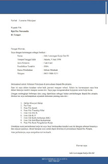 Cara Membuat Surat Lamaran Kerja Yang Baik Via Email