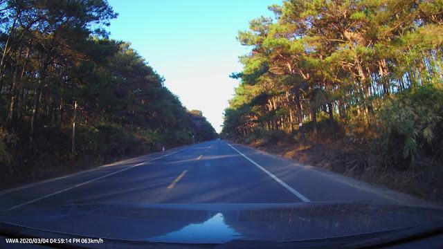 Cảnh đẹp chụp từ VAVA Dash 4K
