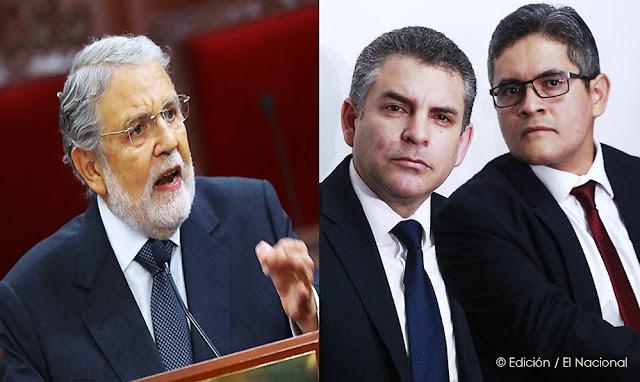 """""""Estos caballeros no conocen ni la Constitución"""", dijo Blume sobre fiscales Vela y Pérez"""