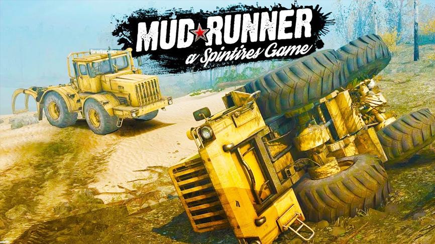 Download Spintires MudRunner Bajakan Bisa Online Terbaru