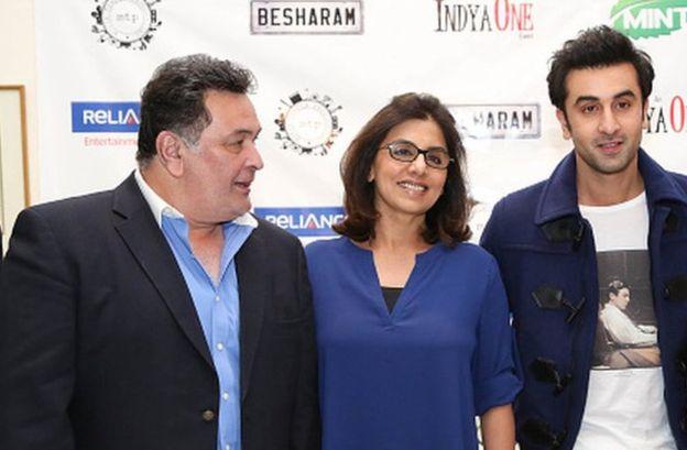 Rishi Kapoor & Ranbir Kapoor