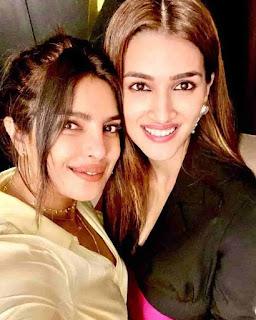 Kriti Sanon With Priyanka Chopra