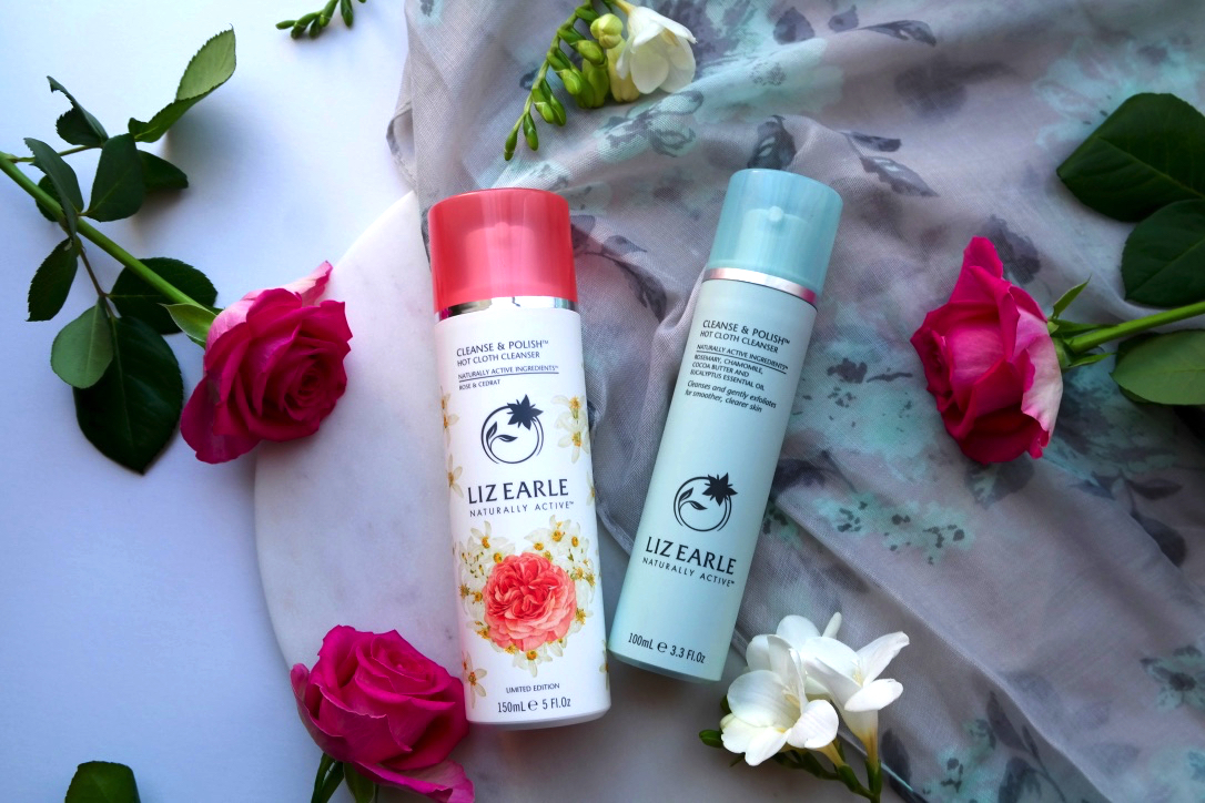 Liz Earle Cleanse and Polish Hot Cloth Cleanser, Rose and Cedrat and Original