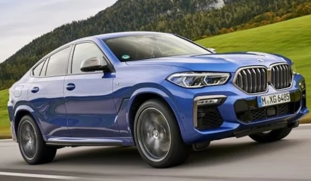 BMW launch all new X6 SUV-Coupe in india.