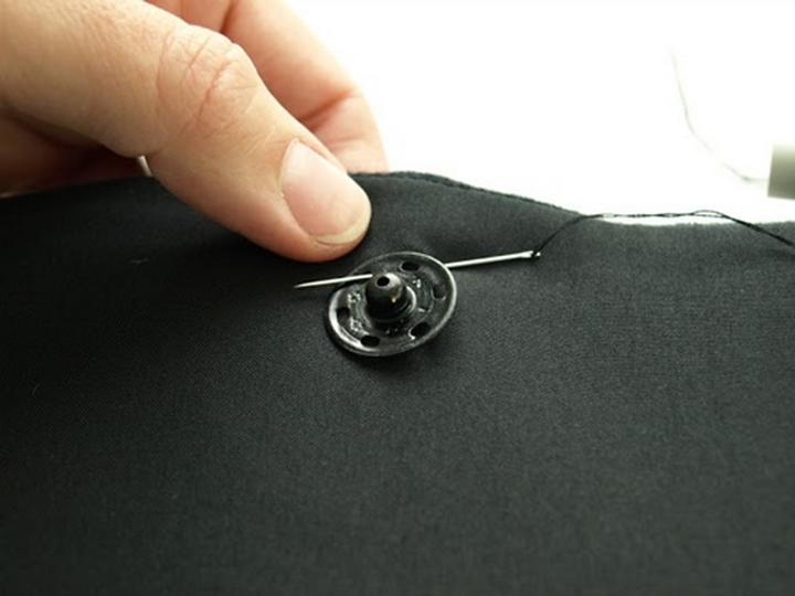Hướng dẫn cách đính nút ráp dây kéo cặp nẹp và chuẩn bị vải trước khi may trang phục