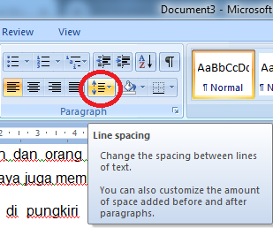 How to Make Line Spacing In Microsoft Word, how to use line spacing on microsoft word, tutorial using line spacing, understanding kine spacing on microsoft word, what is line spacing, microsoft word tutorial