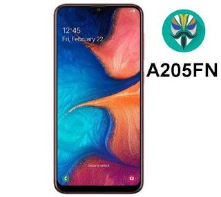 طريقة عمل روت لجهاز Galaxy A20 SM-A205FN اصدار 9.0