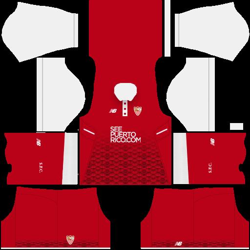 (DLS) Sevilla FC Kit Fantasy