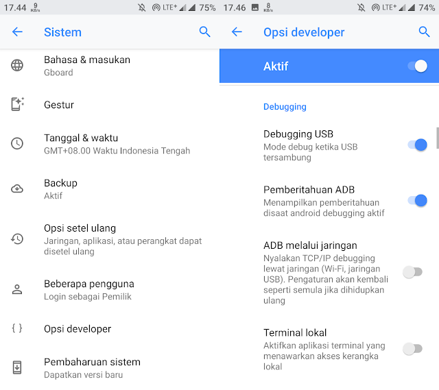 Cara Menghubungkan Smartphone Hp dengan Android Studio