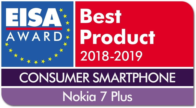 Nokia 7 Plus Crowned Smartphone of the Year at EISA Awards 2018