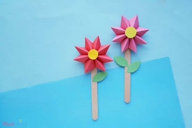 paper flowers for kids