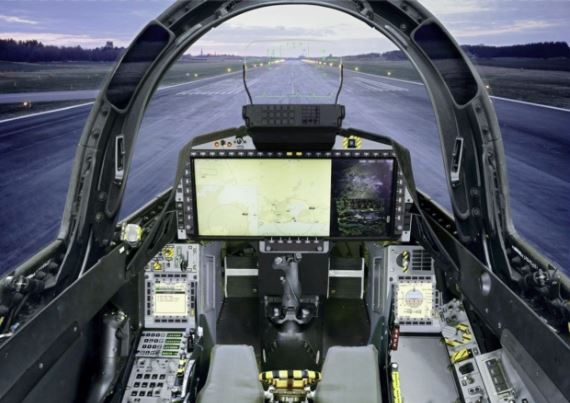SAAB Gripen E cockpit