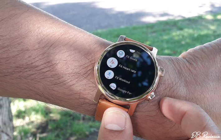 Moto 360 Smartwatch - Google Fit