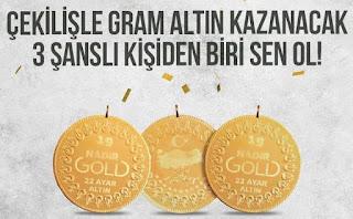 Gram Altın Çekilişi