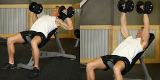 Incline Dumb Bell Chest Press