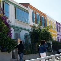 Casas coloniales en Valparaiso
