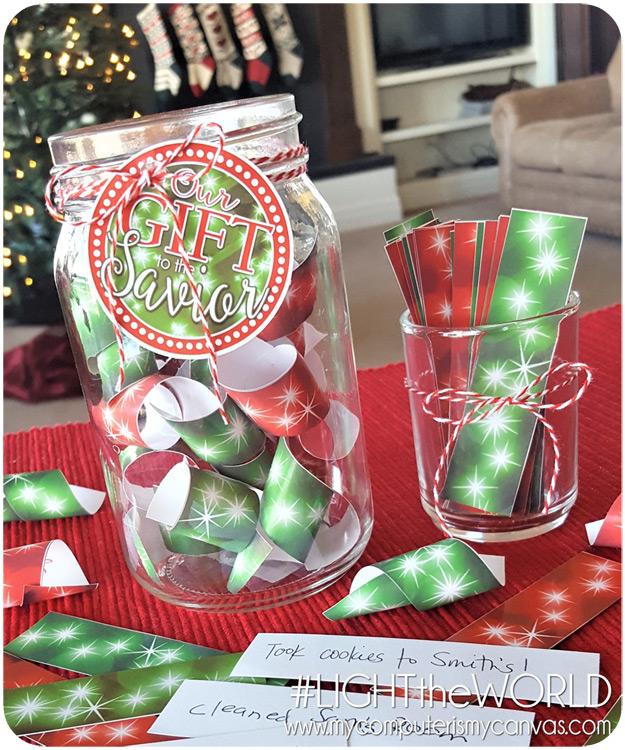 Christmas Service Jar