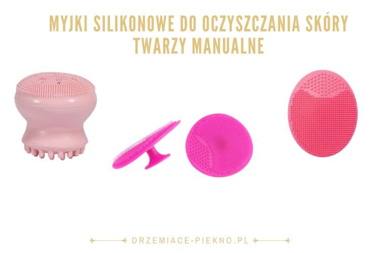 Myjki silikonowe do oczyszczania skóry twarzy manualne