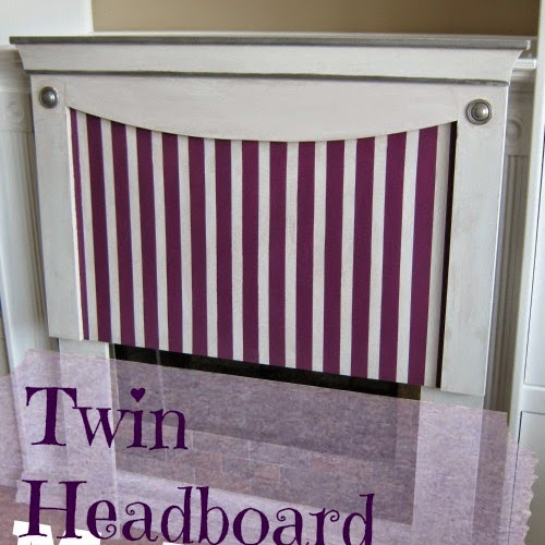 Twin Headboard Makeover - The Easy Project That Wasn't