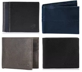 Flat 40% Off on Fastrack Men's Leather Wallet starts from Rs.347 Only @ Amazon
