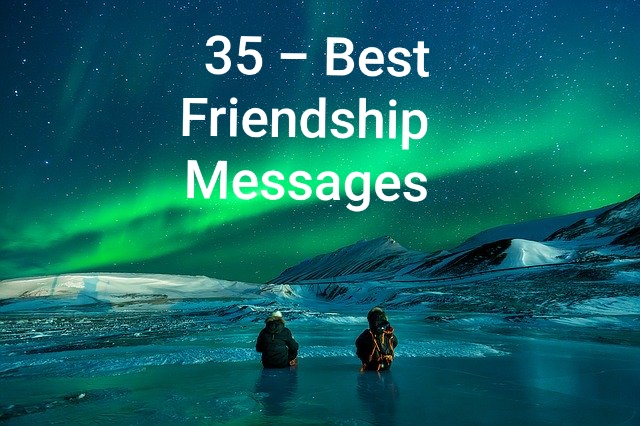 Best Friendship Messages