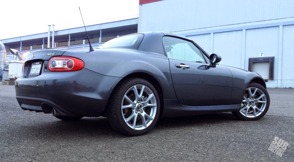 2015 Mazda MX-5 Miata Grand Touring with the PRHT