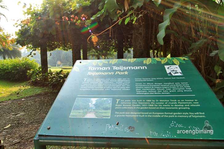 taman teijsmann kebun raya bogor