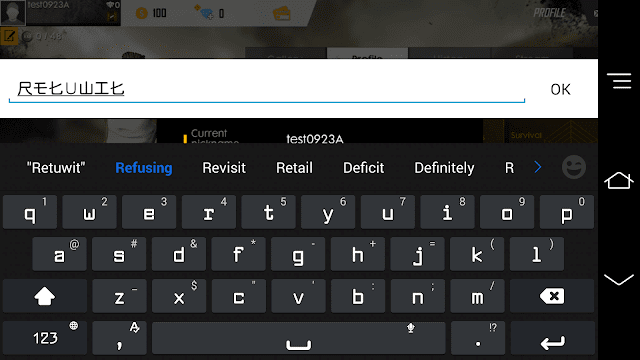 How to change name stylish font in free fire, nickname already