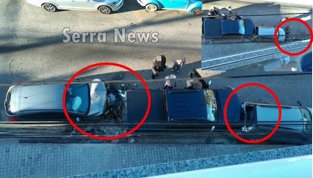 Motorista dorme no volante e causa acidente no centro de Cantagalo