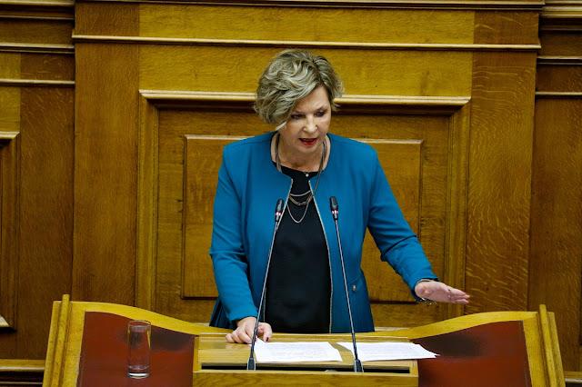 Όλγα Γεροβασίλη για Ν.Δ.: Δεν θα τους επιτρέψουμε να γυρίσουν την ελληνική κοινωνία στο Μεσαίωνα