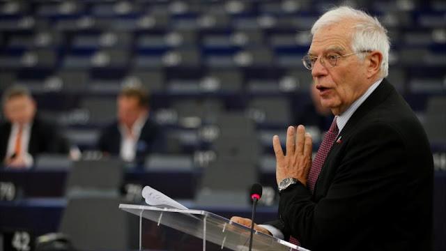 UE condena 'injustificable' decisión de Trump de cortar fondos a OMS
