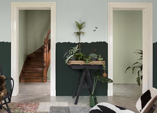 parede verde, acasaehsua, a casa eh sua, cores 2017, parede colorida