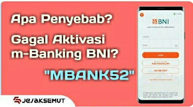 penyebab gagal aktivasi m-banking bni