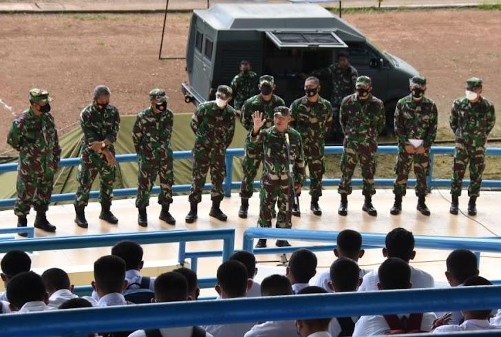 Sebanyak 1.397 Peserta Seleksi Calon Bintara PK TNI - AD Ta. 2021, Dapat Arahan Danrem 141/Toddopuli