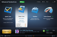Download Advanced SystemCare Free, improve the performance of your PC