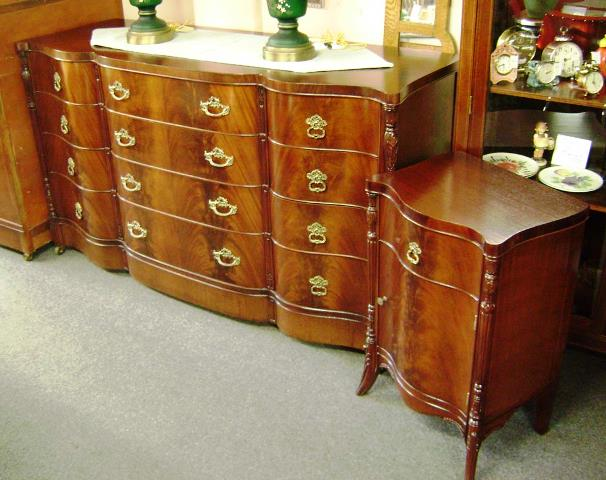 vintage mahogany bedroom furniture