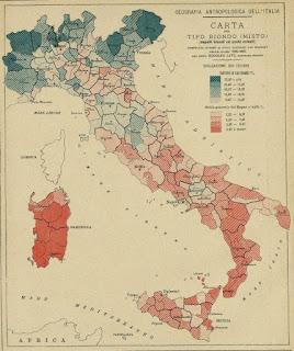 mappa italiana capelli biondi occhi azzurri