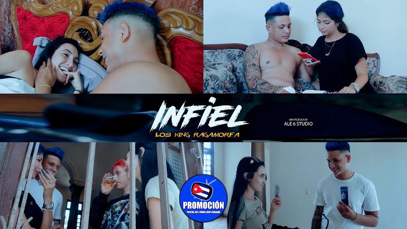 Los King Ragamorfa - ¨Infiel¨ - Videoclip - Director: Ale6 Studio. Portal Del Vídeo Clip Cubano. Música urbana cubana. Reguetón. Cuba.
