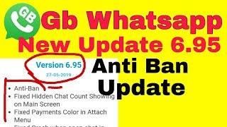 GB Whatsapp V6.95 Apk Antiban